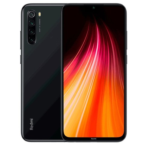 Смартфон Xiaomi Redmi Note 8 6/128GB  Black (Черный)