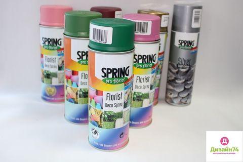 Краска Spring pro florist  042  зеленая