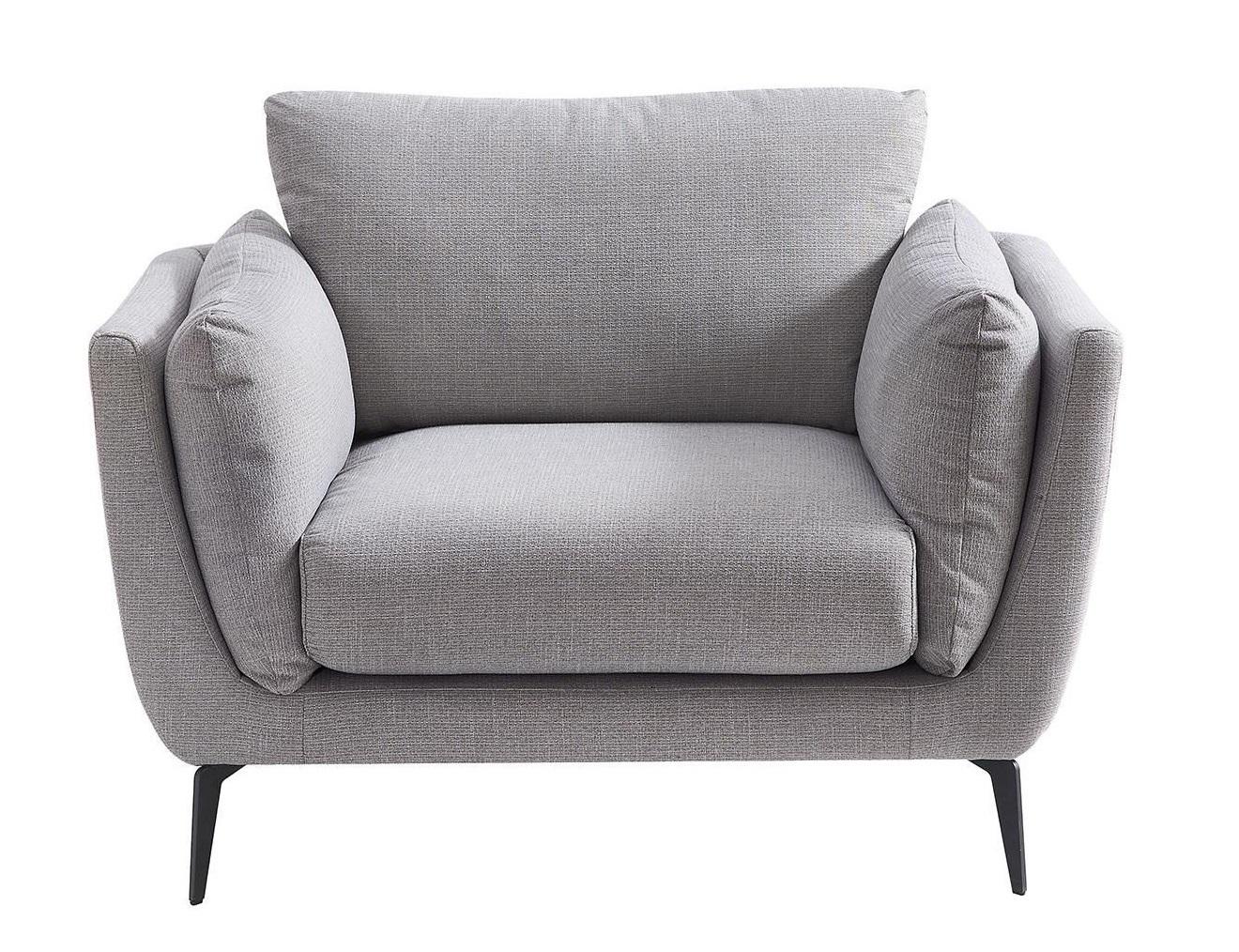 Кресло Amsterdam 5176 Серый Никель (NICKEL)
