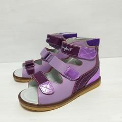 ортопедические сандали с высоким задником