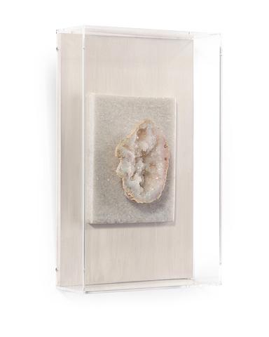 Crystalline White Geode III