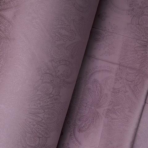Жаккард сатин TQ05 цвет сиреневый