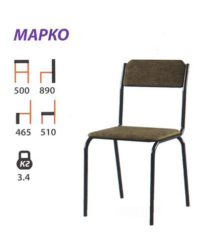 Марко стул на металлокаркасе
