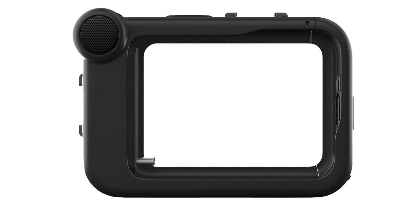 Медиамодуль со встроенным микрофоном и входом HDMI для камеры HERO9 GoPro ADFMD-001 (Media Mod) вид спереди