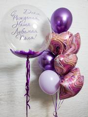 Композиция из шаров для девушки