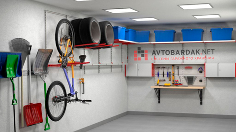 Проект №10: гараж 36 кв.м (3х6 м). Обустройство двух стен.
