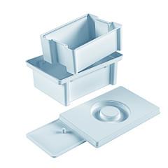 Емкость - контейнер для дезинфекции мединструментов, 1 литр