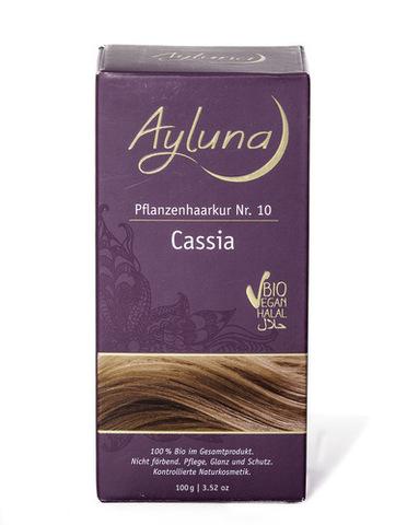 Порошок-маска для волос растительная №10 КАССИЯ Ayluna, 100 гр