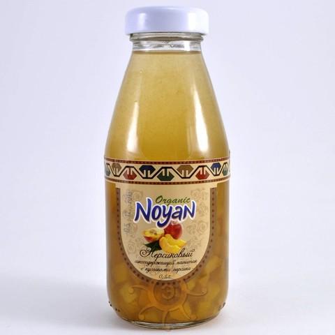 """Напиток персиковый с кусочками """"Organic"""" Noyan, 330мл"""