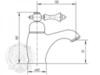 Смеситель для раковины Migliore Bomond ML.BMD-9713 схема