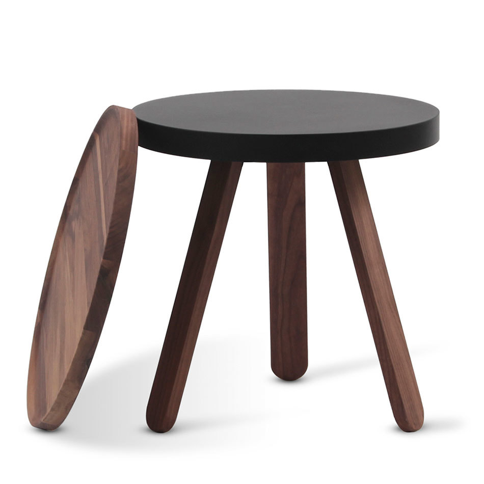 Кофейный столик Batea S орех - вид 2