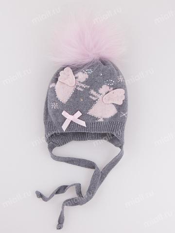 Зимняя шапка для девочки Mialt Ева + Ангелина