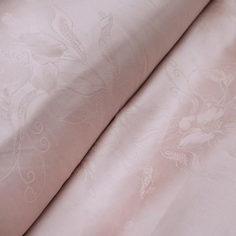 Жаккард сатин TQ04 цвет розовый