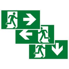Эвакуационные знаки безопасности ГОСТ 12.4.026-2015