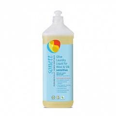 Жидкость для стирки шерсти и шелка гипоаллергенная Sensitive Sonett, 1л
