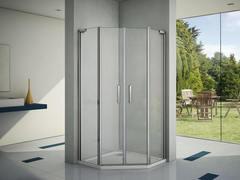 Душевое ограждение Good Door Пандора PNT-ТD 100х100 см