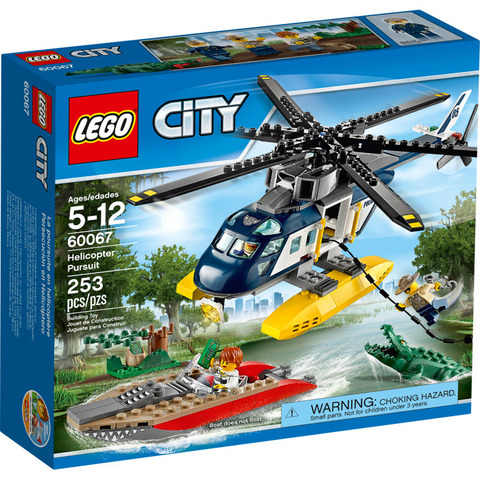 LEGO City: Погоня на полицейском вертолёте 60067 — Helicopter Pursuit — Лего Сити Город
