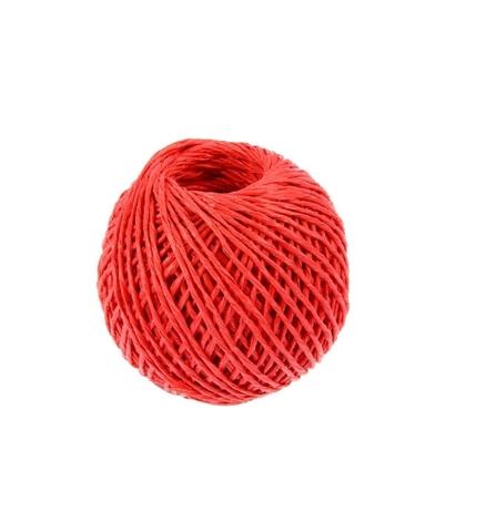 Шпагат полипропиленовый 1000 текс красный 60м