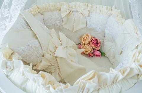 Комплект в круглую/овальную кроватки Renaissance