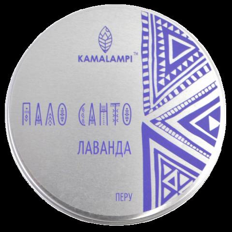"""Свеча ароматическая """"Пало Санто и Лаванда"""" Kamalampi"""