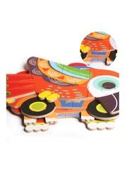 Развивающие деревянные пазлы в жестяной коробке Птицы SHAPES PUZZLE 26 деталей, 6 видов для детей от 3-х лет