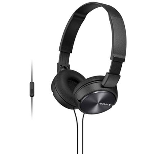 MDR-ZX310AP B наушники Sony с микрофоном, черные