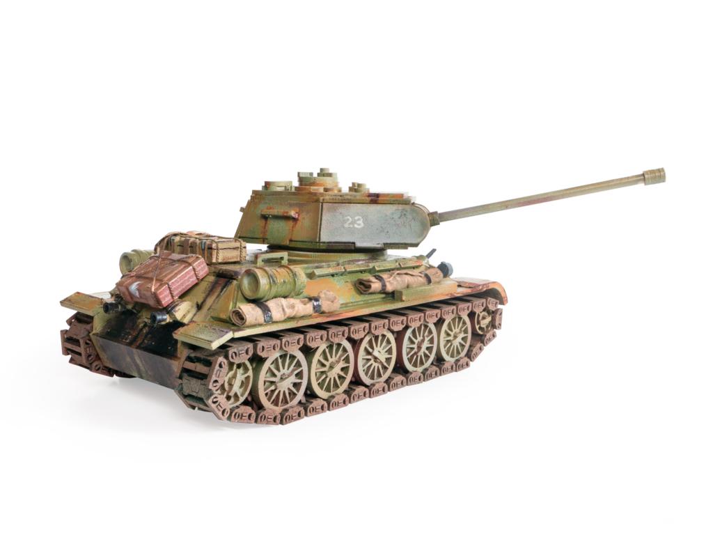 Танк Т34 - Сборная модель подходят для профессионального моделирования
