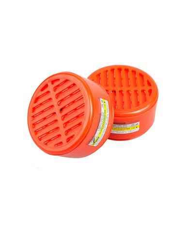 Полумаска Бриз-3201 (РУ) газопылезащитная с фильтром А1В1Е1К1Р1 RD (х40)