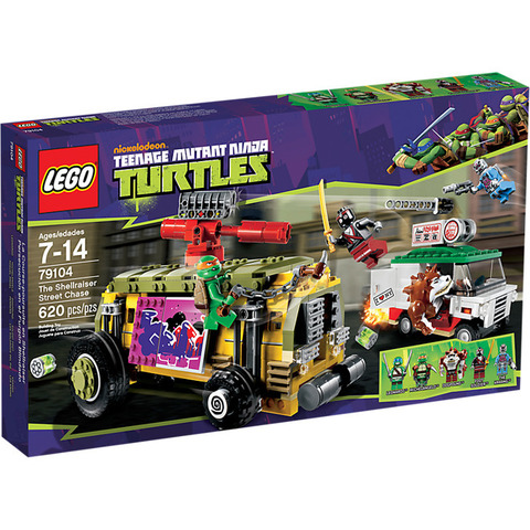 LEGO Teenage Mutant Ninja Turtles: Погоня на панцирном танке 79104 — Shellraiser Street Chase — Лего Черепашки-ниндзя мутанты