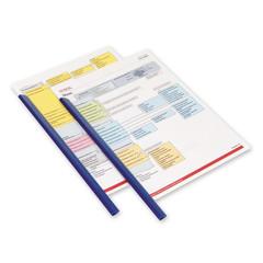 Скрепкошина для брошюровки Durable для А4 до 60 листов синяя