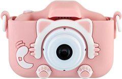 Детский фотоаппарат котик розовый KC650