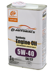 AUTOBACS ENGINE OIL SYNTHETIC 5W40 SN/CF (1л)