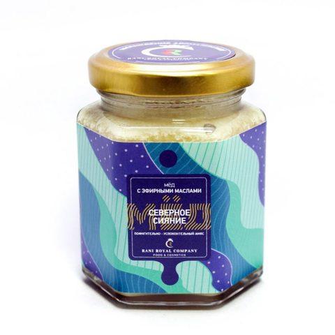 Мёд с эфирными маслами «Северное сияние» 240 г