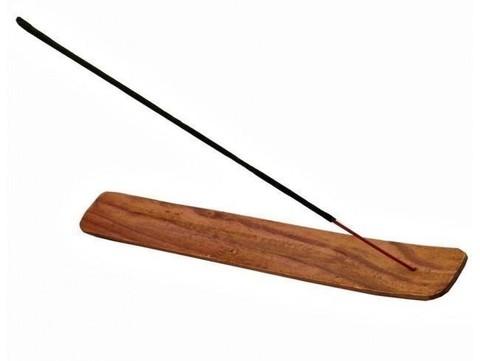 Подставка под благовония Лодочка, деревянная 25,5 см