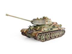 Танк Т-34-85 от Lemmo - Деревянный конструктор, сборная модель, 3D пазл