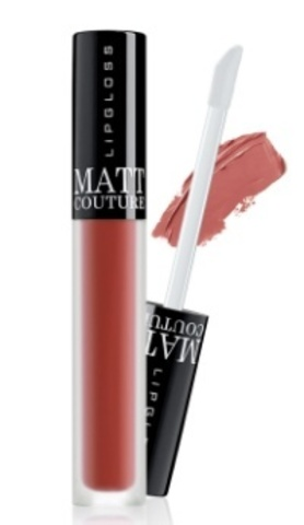 BelorDesign Блеск для губ Matt couture тон №59 коричнево-лиловый