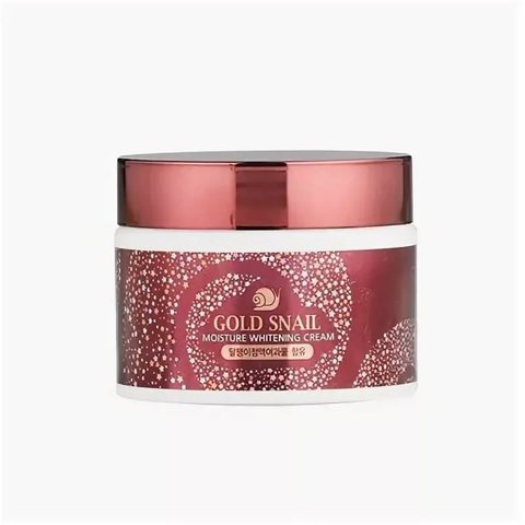 Enough GS Крем для лица с муцином улитки Enough Gold Snail Moisture Whitening Cream