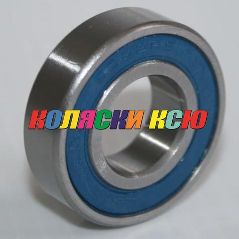 Подшипник 6002 2rs резиновый уплотнитель (вн.диаметр 15мм, наруж диам 32мм) №009004