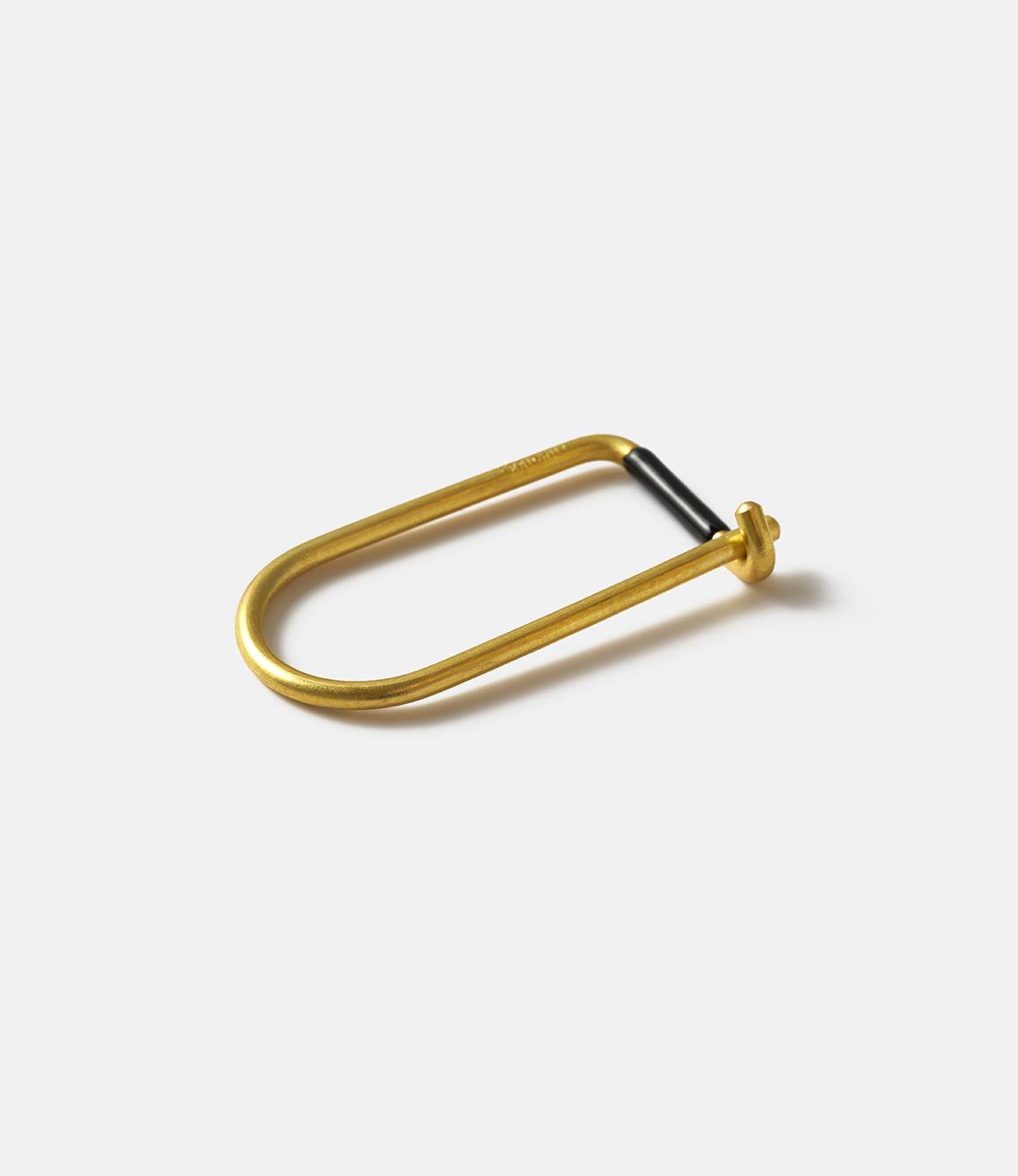 Craighill Wilson Brass Black — ключница из латуни: чёрная эмаль