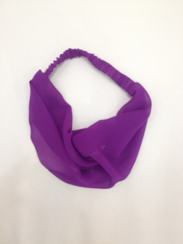 60231-18 Косынка женская  АКСЕССУАРЫ - LAETE One size фиолетовый