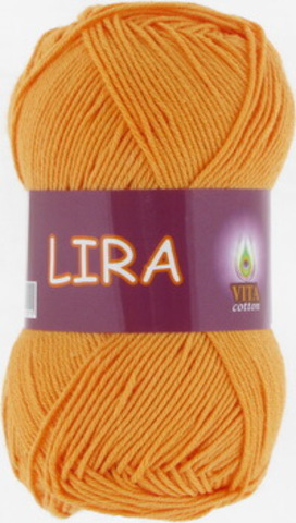 Пряжа Lira (Vita cotton) 5034 Желток