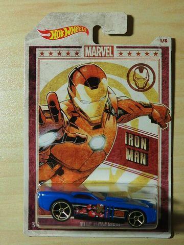 2019 Hot Wheels Marvel exclusive IRON MAN THE GOV'NER