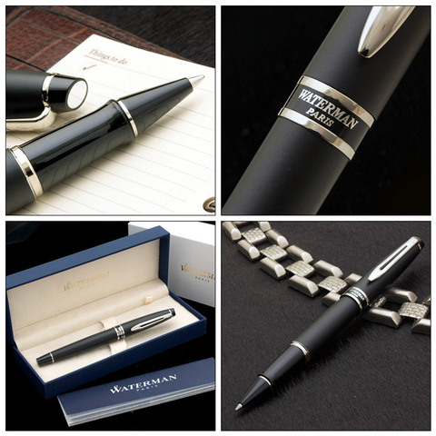Ручка-роллер Waterman Expert, цвет: MattBlack, стержень: Fblk123