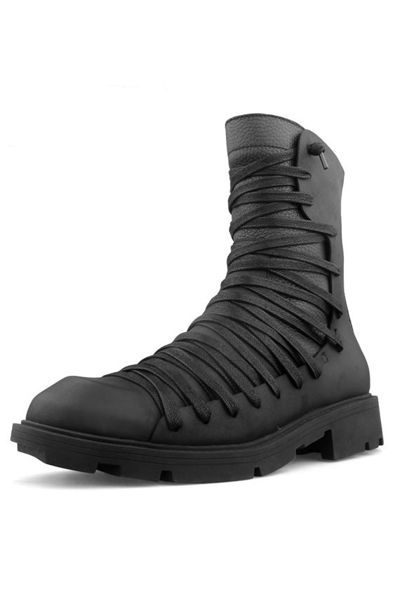 Высокие ботинки на шнуровке «YAED»