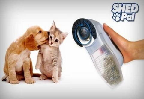 Машинка для вычесывания шерсти животных Shed Pal