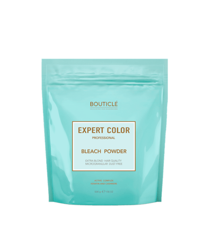 Обесцвечивающая пудра с кератином и кашемиром – «BOUTICLE Expert Color Powder Bleach»