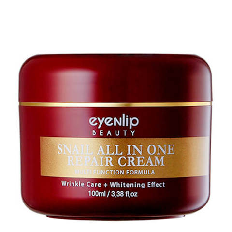 Крем для лица улиточный Eyenlip Snail All In One Repair Cream (ребрендинг)