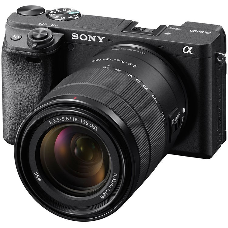 ILCE-6400MB фотоаппарат Sony Alpha A6400 Kit 18-135