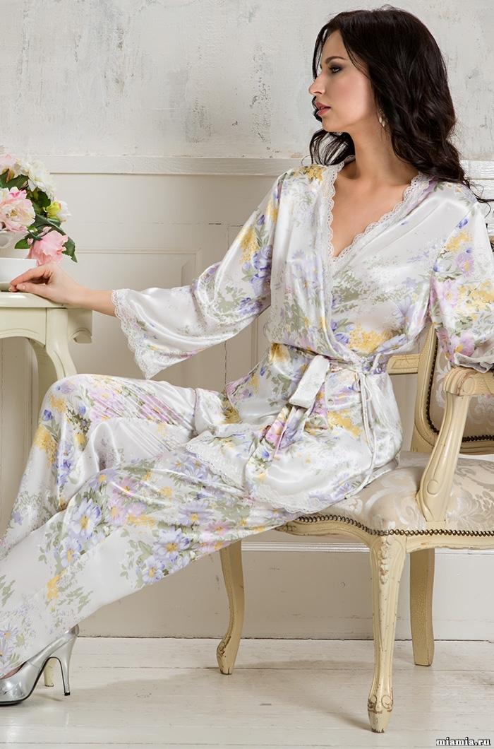шелк натуральный Комплект домашний с брюками Mia-Amore Lilianna Лилианна 5995 5995.jpg