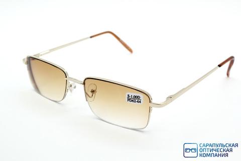 Очки готовые для зрения на леске тонированные LANBOSI 8031